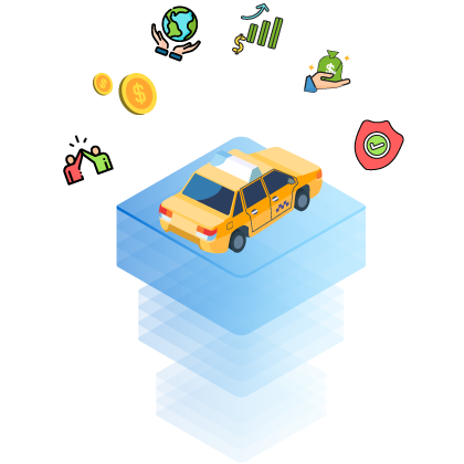 Features of Our Blockchain Solution for Ride Sharing