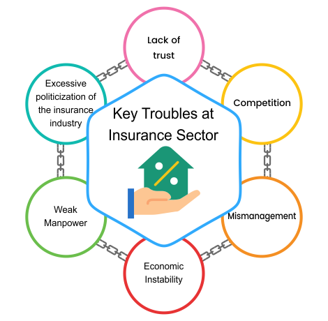 Key Troubles at Insurance Sector